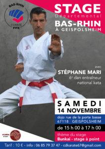 Stage Départemental Kata @ Dojo Karaté Do Geispolsheim   Geispolsheim   Grand Est   France