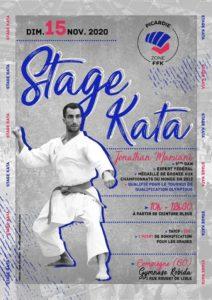 Karaté : Stage Kata avec Jonathan Maruani CN 5e Dan @ Gymnase Robida   Compiègne   Hauts-de-France   France